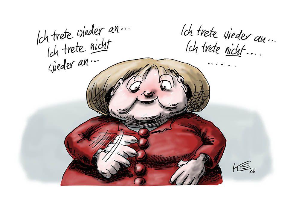 Mutti tritt wieder an: Angela macht es ein weiteres Mal