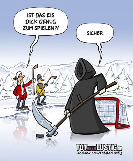 Ice Hockey - Spiel mit dem Feuer