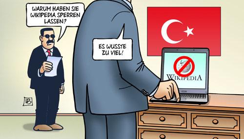 Erdogan sperrt Wikipedia