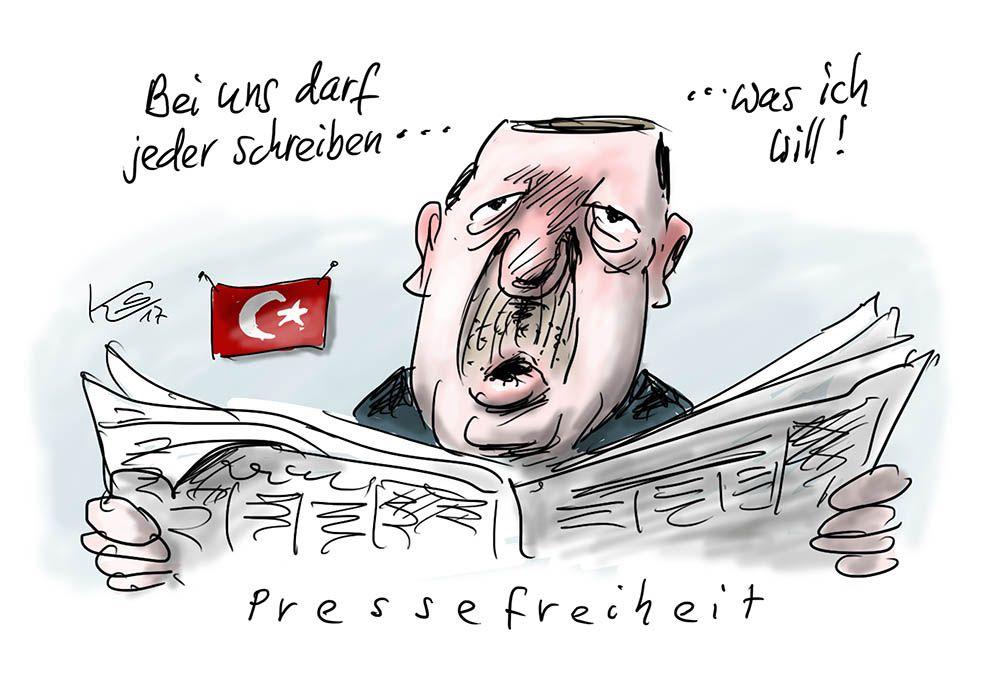 Pressefreiheit nach Erdogan