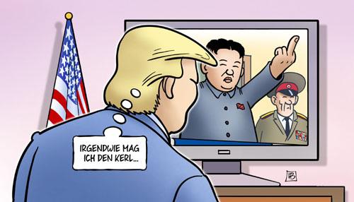 Seelenverwandte: Donald Trump & Kim Jong-Un