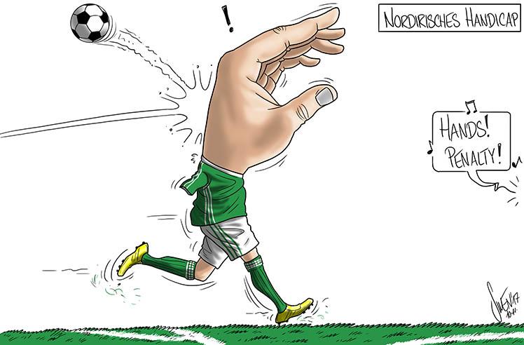 Fussball: Das Handicap der Nordiren