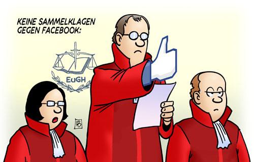 Keine Sammelklage gegen Facebook - Gefällt mir!