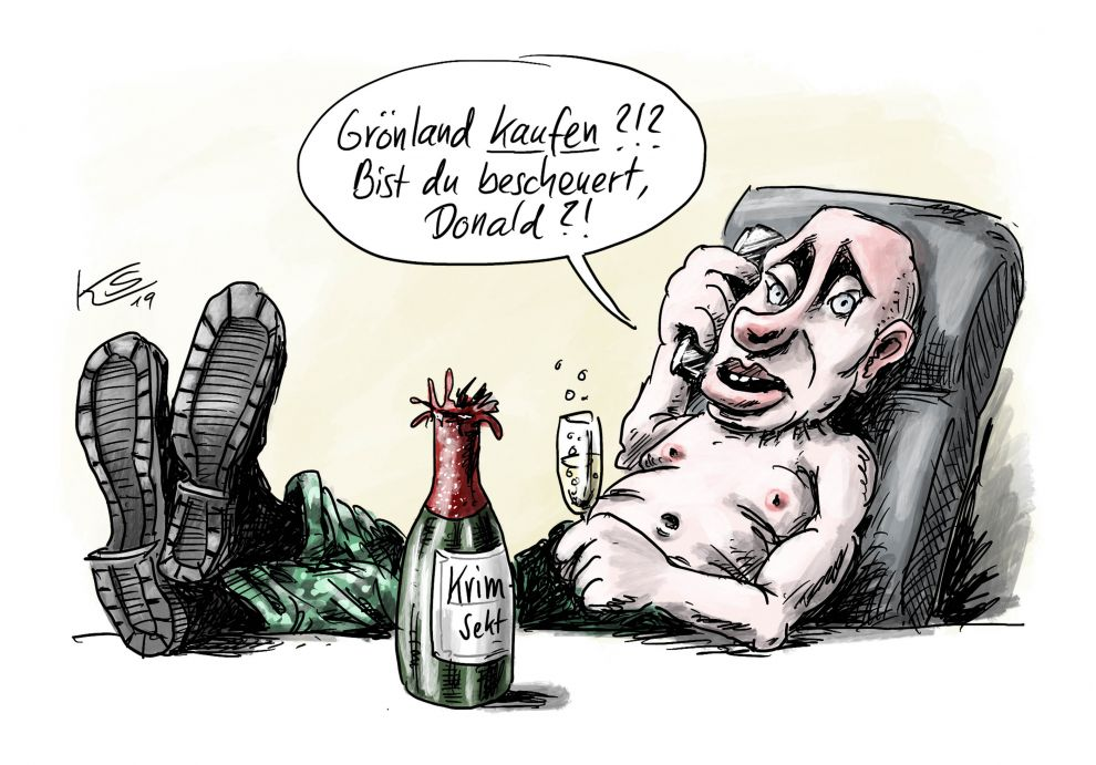 Putin lacht Trump aus