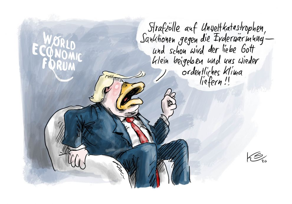 Trump: Strafzölle aufs Klima