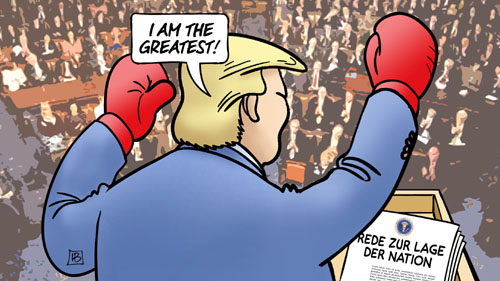 Trump: Rede zur Lage der Nation