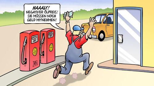 Negativer Ölpreis