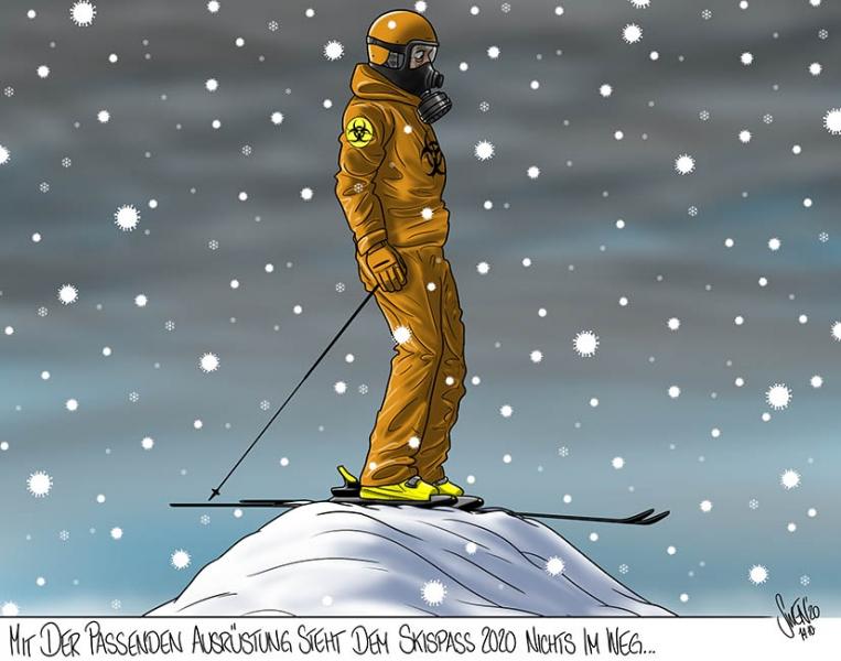 Corona-Schutzmassnahmen für die Skisaison