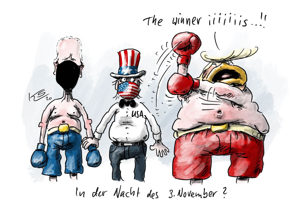 "USA: Wahlergebnisse 2020 -""And the winner is..."""
