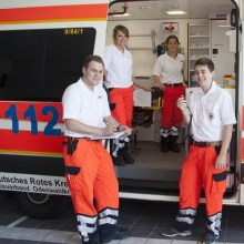 Rettungsdienst im FSJ