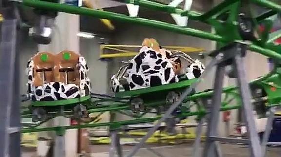 Foto: © Allgäu Skyline Park - Kids Spin auf erster Testfahrt