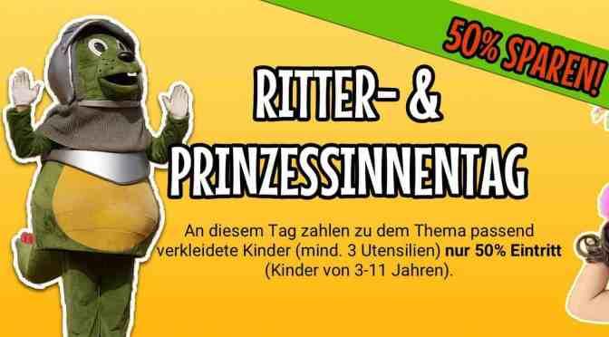 Schloss Thurn: Ritter und Prinzessinnen willkommen – 50 % Ermäßigung für verkleidete Kinder