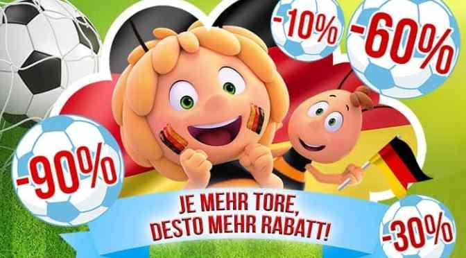 Beeindruckende Aktion des Holiday Parks: 10% Rabatt pro Tor