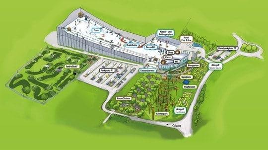 Neuer Name, neue Attraktionen: Das allrounder mountain resort heißt jetzt Alpenpark Neuss