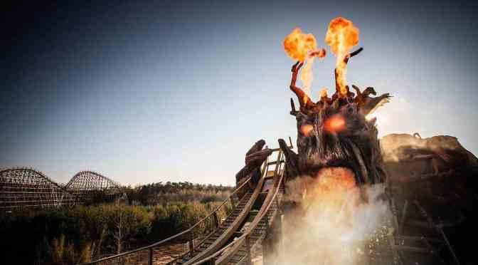 Colossos: Ein Kampf zwischen Holz und Feuer – Das Heide Park Resort lüftet das Geheimnis um den Kampf der Giganten