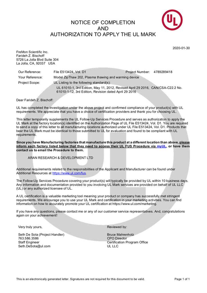 UL-Authorization-E513424-D1000-1A0C0-NOA-Letter