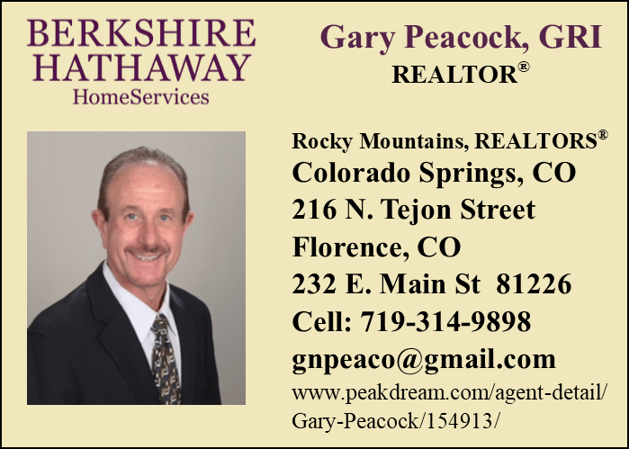 Business Spotlight: Gary Peacock, REALTOR® – Berkshire Hathaway Rocky Mountain Realtors