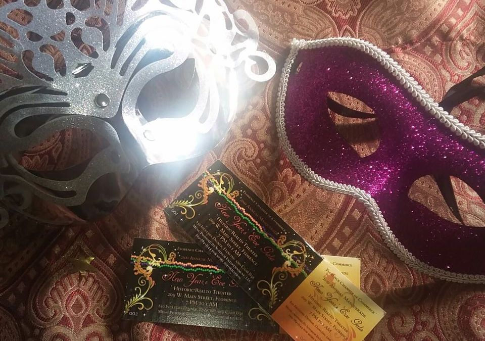 New Year's Eve Masquerade Gala – Florence Chamber of Commerce