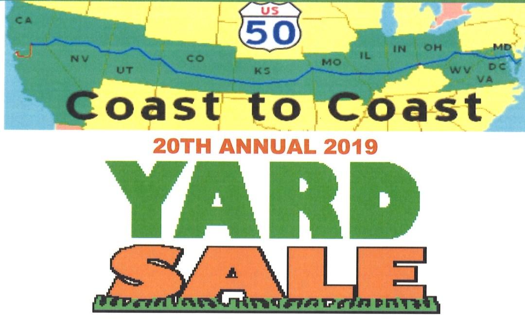 Coast-to-Coast Highway 50 Yard Sale