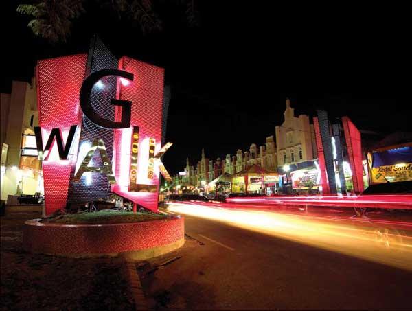 Kawasan G-Walk Surabaya