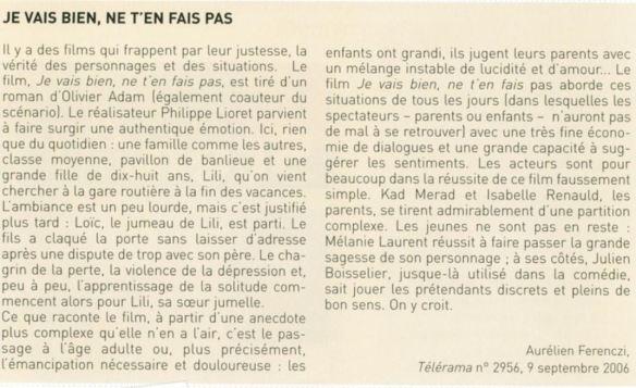 French Comprehension Resume Et Critique De Film Et Livre
