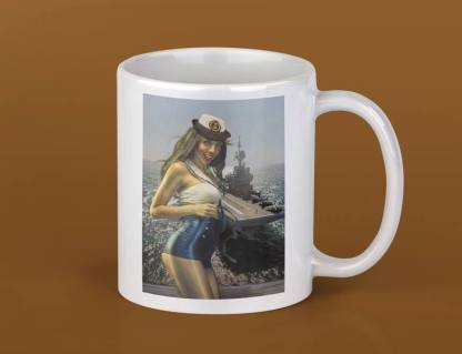 Mug pinup Marine Nationale 1