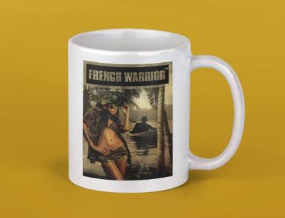 Mug pinup Légion jungle 1