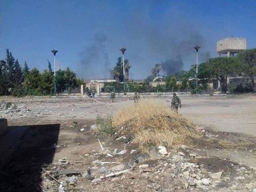 Ce dimanche 25 juin, l'armée syrienne a pris le contrôle de la région de Machtal-Zohour dans les parages d'al-Baath