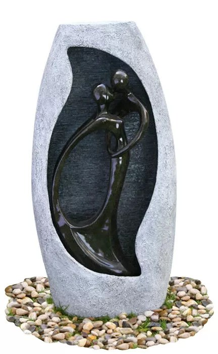 petites statues d interieur de fontaines d eau d acier inoxydable avec l oem acceptable