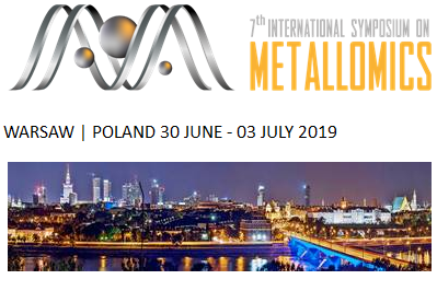 [Expired] 7th international symposium on metallomics