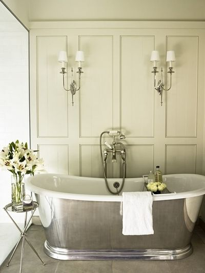 31 Days Of French Inspired Style Day 25 Bathrooms