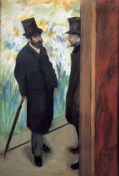Friends in the Wings Edgar Degas_opt