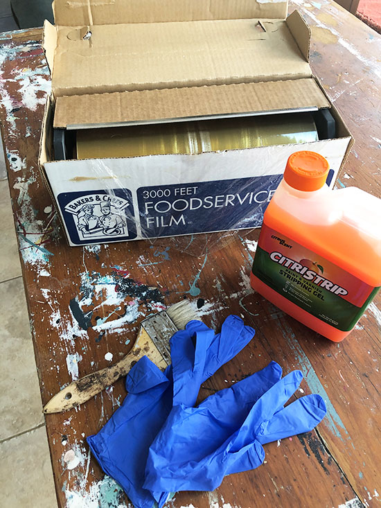 table refinishing supplies