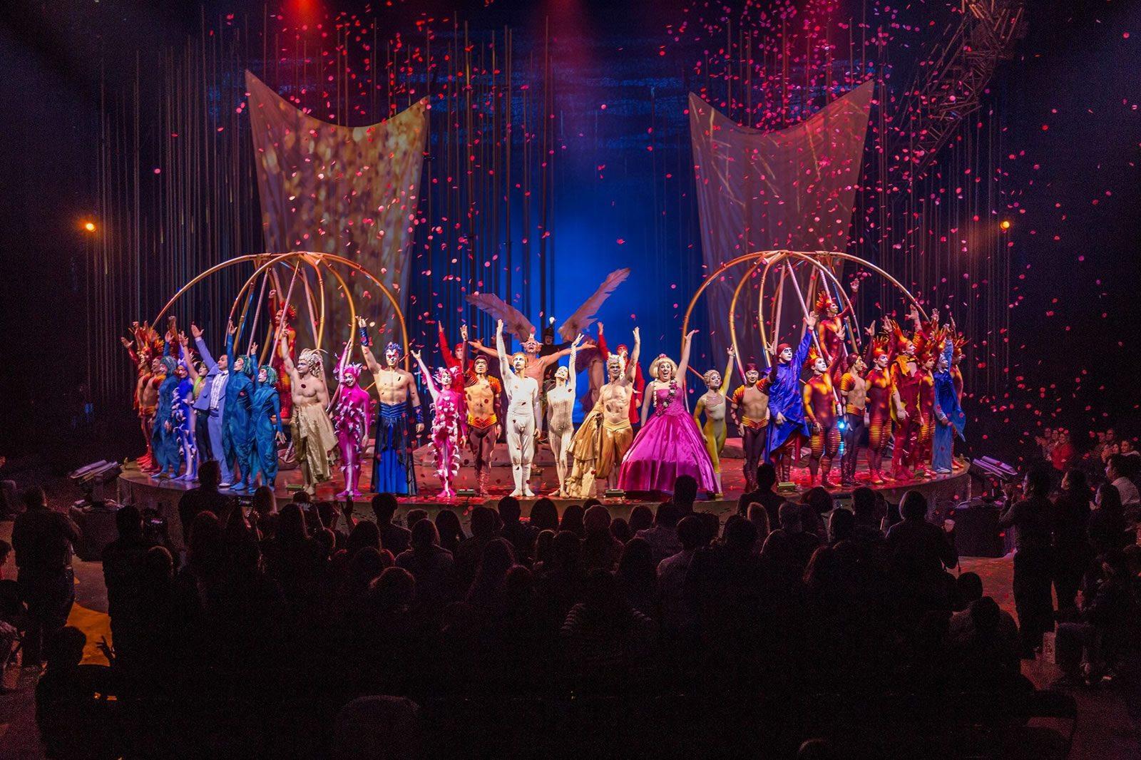 Assister Un Spectacle Du Cirque Du Soleil