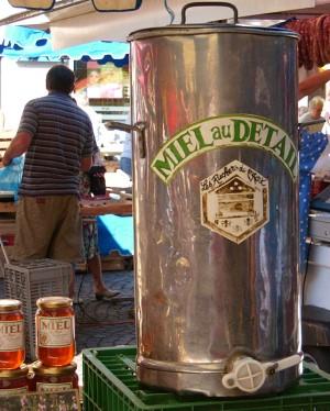 market honey