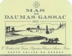 daumas gassac label