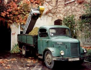 alsace wine lorry