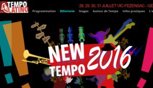 tempo latino poster 2016