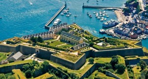 Vauban fortifications at Le Palais