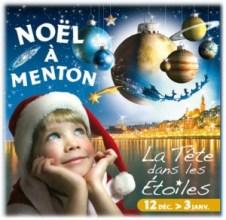 menton christmas poster 2010