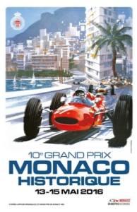 poster monaco GP historic