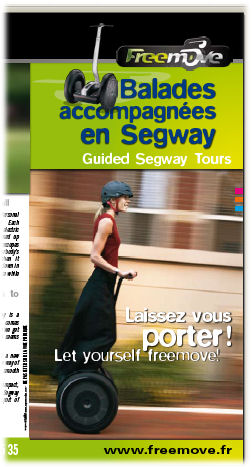 segway on the loire brochure