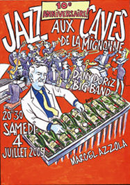 jazz aux caves poster