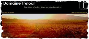 domaine treloar website