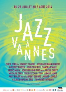 jazz at vannes poster