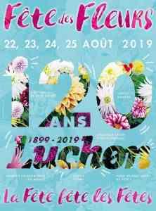 Luchon Flower Festival poster