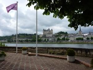 View from the Mercure Bords de Loire, Saumur