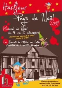 harfleur christmas market poster