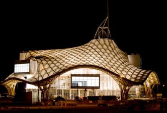 The Pompidou centre, Metz,night