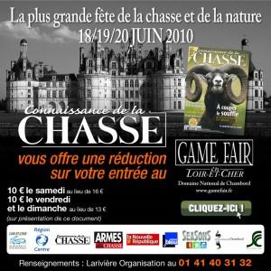 Game Fair at Chambord